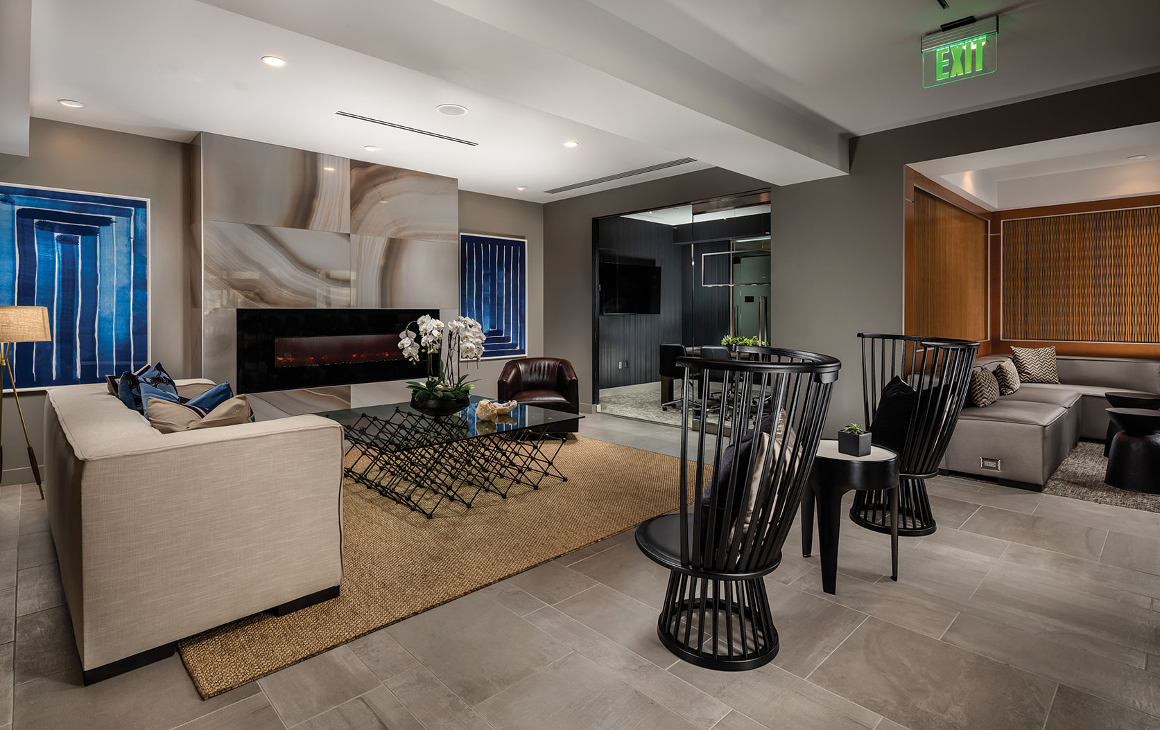 the pearl on wilshire apartment brand identity uncomn projects