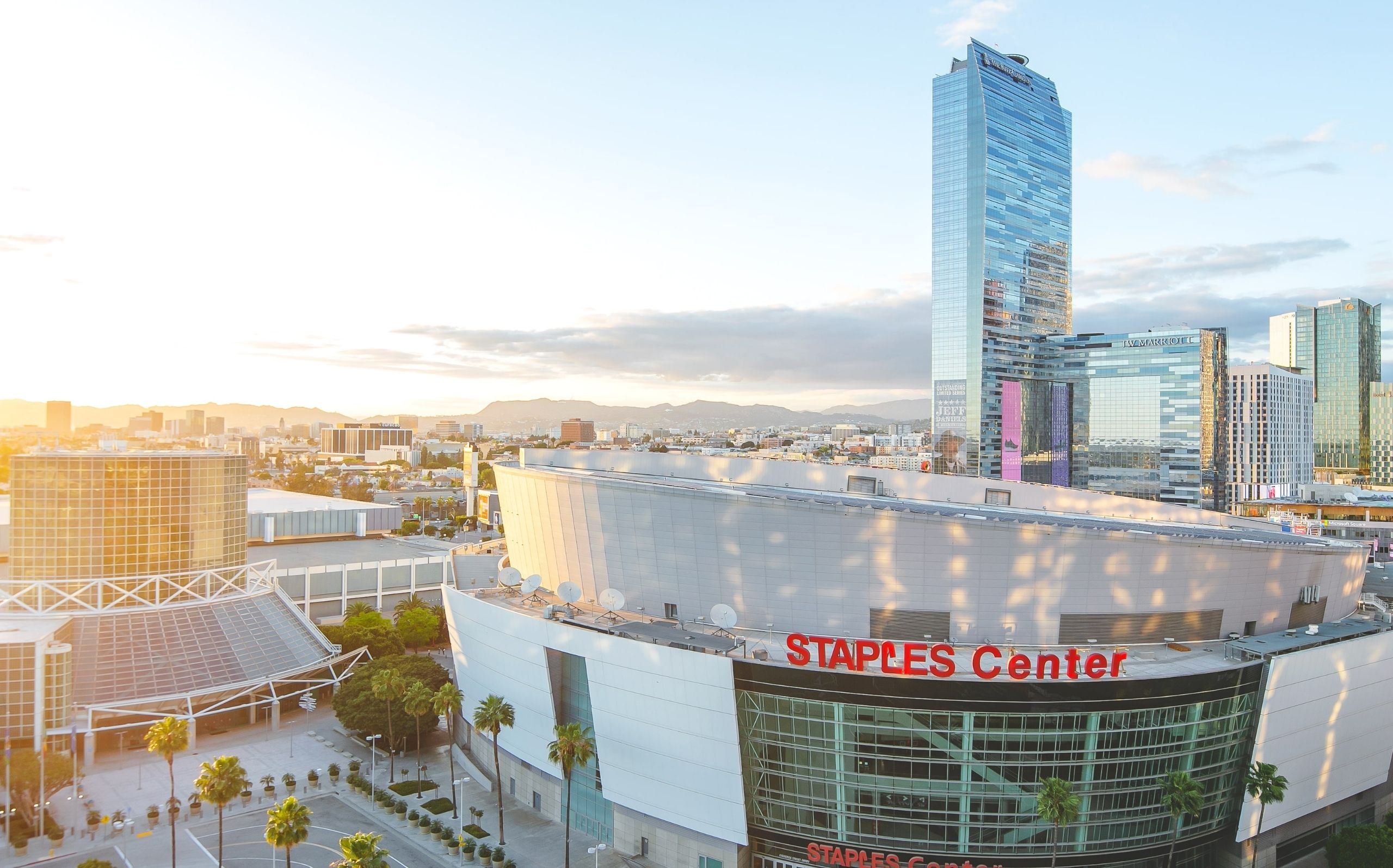 Staples Center near The Crest