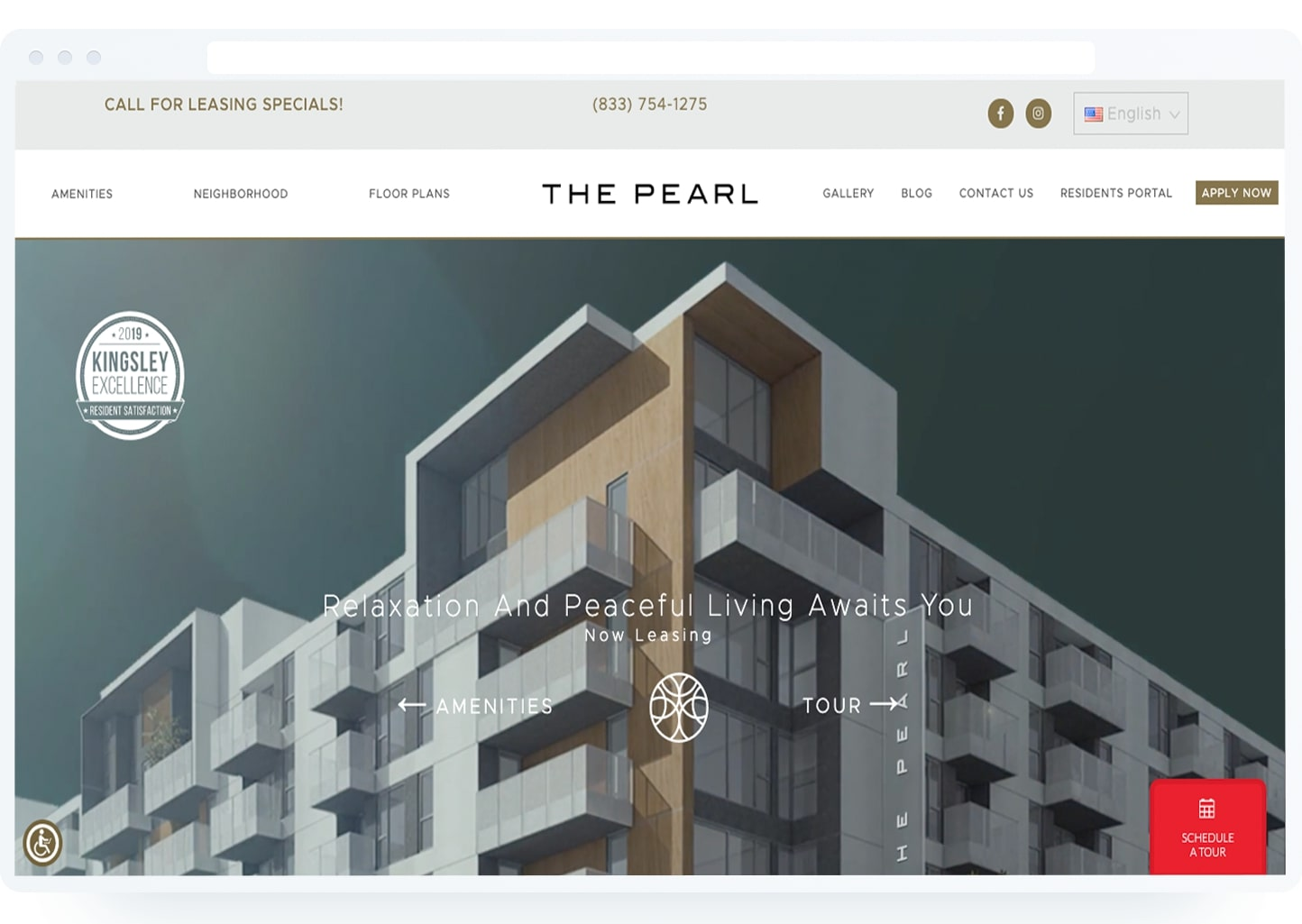 Multifamily Websites | Apartment Website Design | Uncomn Projects