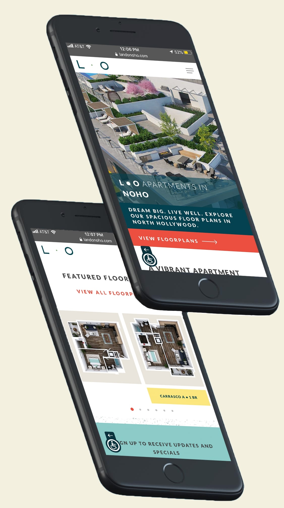 Multifamly Mobile Friendly Website Design | Uncomn Projects